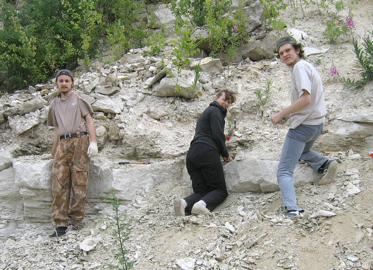Summer Fossil Hunt in Russia